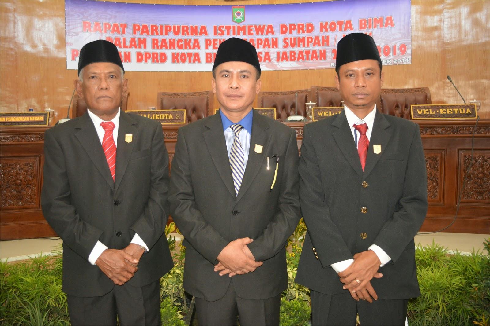 Tujuh Fraksi DPRD Kota Bima Setujui Tiga Raperda