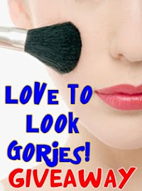 "Giveaway | ""love to look gorjes!"" (4th winner Lulu)"