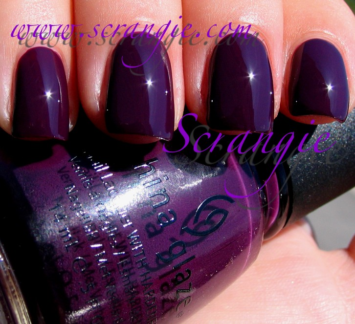 Scrangie: China Glaze Metro Collection Fall 2011 Swatches and Review