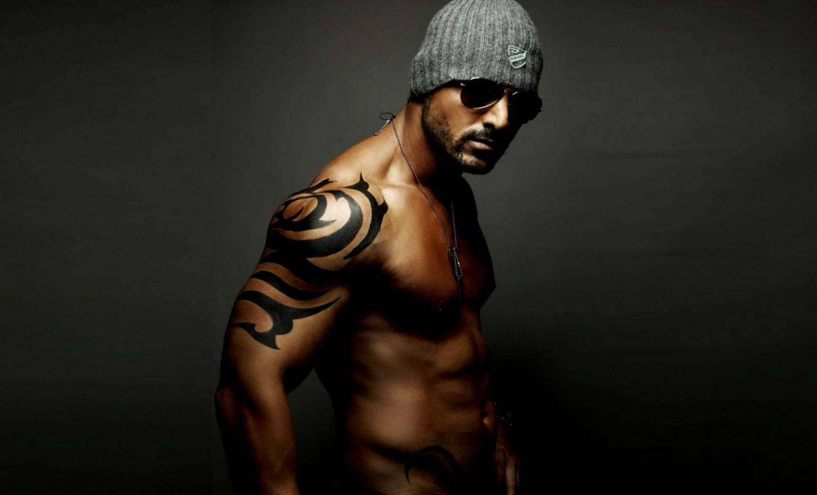 1680x1050 Art Hat Sunglasses Man Tattoo Mens Tattoo Design