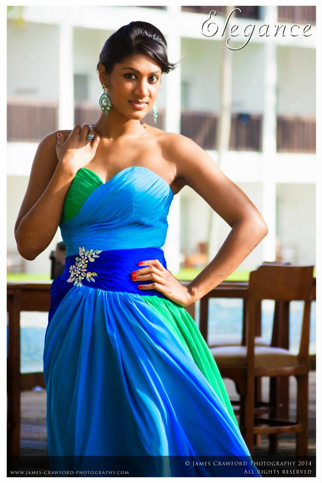 Milana Gamage blue