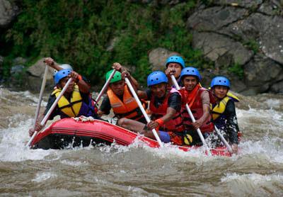 Arung Jeram Menjadi Objek Wisata Ekstrem Di Kabupaten Pidie