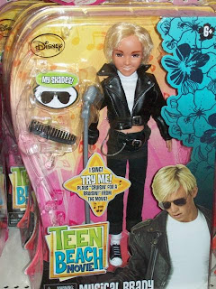 and Action Figures: Teen Beach Movie Dolls - Big-Heads Strike Again