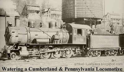 Gambar Lokomotif uap : lokomotif kuno