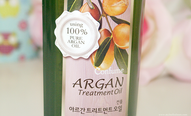 Confume 100% pure argan oil