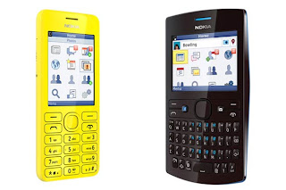 Harga HP Nokia Asha 205 Dan Asha 206