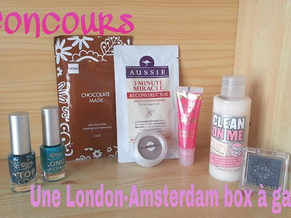 Concours London-Amsterdam box (derniers jours pour participer)