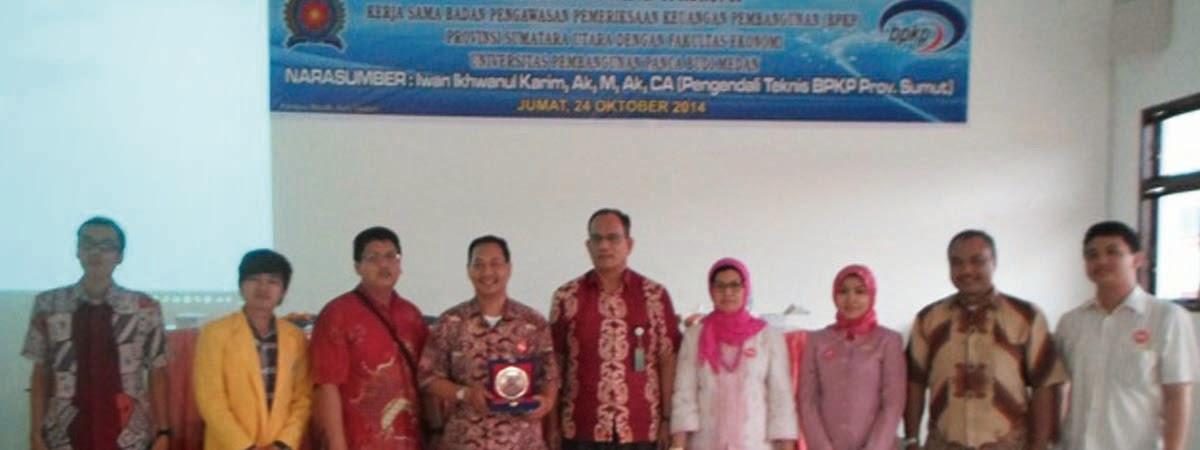 Seminar Nasional Anti Korupsi Kerja Sama Fakultas Ekonomi UNPAB dengan BPKP Provinsi Sumut