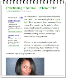 "Featured on ""Healthy Locs Blog"""
