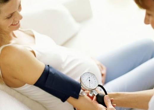 У беременной повышенное сердцебиение