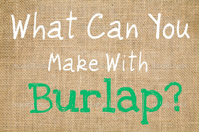 ashley 39 s dandelion wishes what can you make with burlap