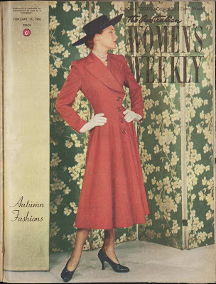 Australian Women's Weekly Cover, New Look Fashion, February 195