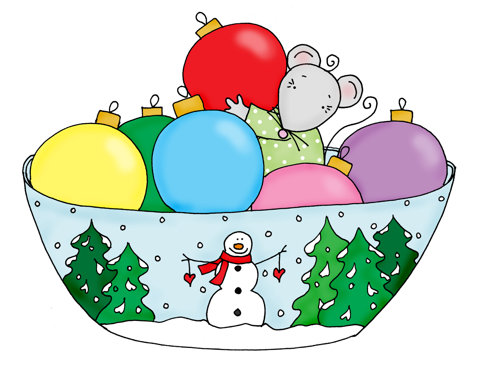 Christmas Cheer In A Bowl