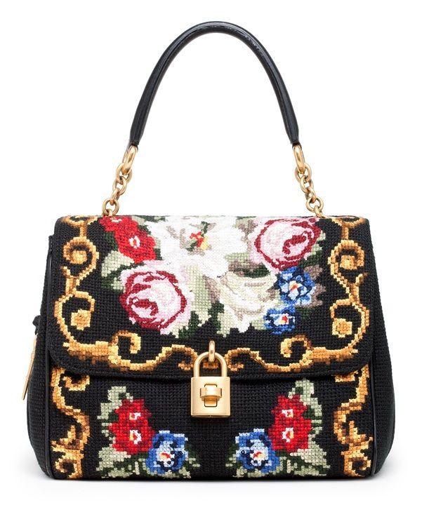 Hocuskocis Embroidered Bags  La Dolce Amp Gabbana