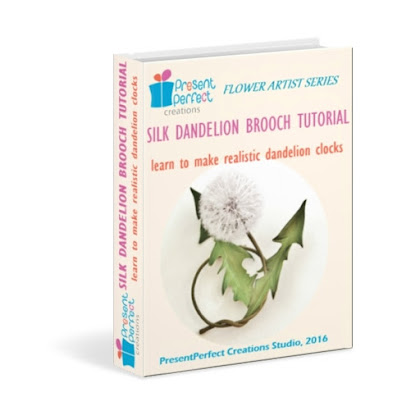 NEW Silk Dandelion tutorial is OUT NOW