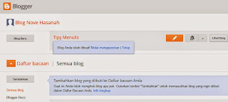 tutorial mengenal dashboar blogspot
