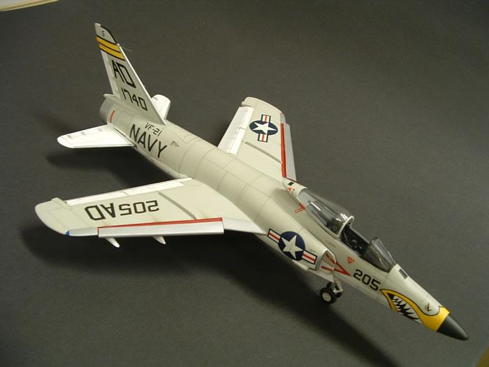 F-11 Tiger US Navy Fighter Aircraft