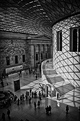 Photograph of the British Museum Great Court, 'Shadow and Light' by scott1723 on Flickr