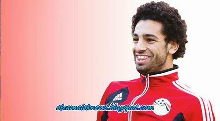 محمد صلاح جناح نادي تشيلسي المصري الدولي