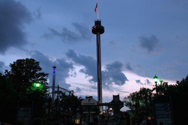 scarowinds halloween haunt 2012 tar heel camper