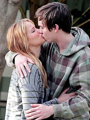 Nicholas Hoult Kissing