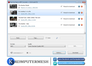 Aplikasi download Video Youtube untuk PC / Laptop