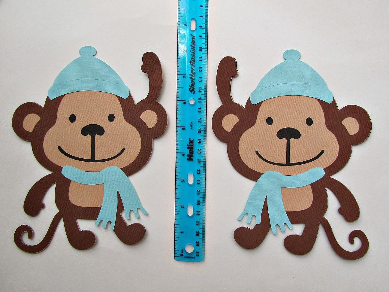Monkey Baby Shower Banner