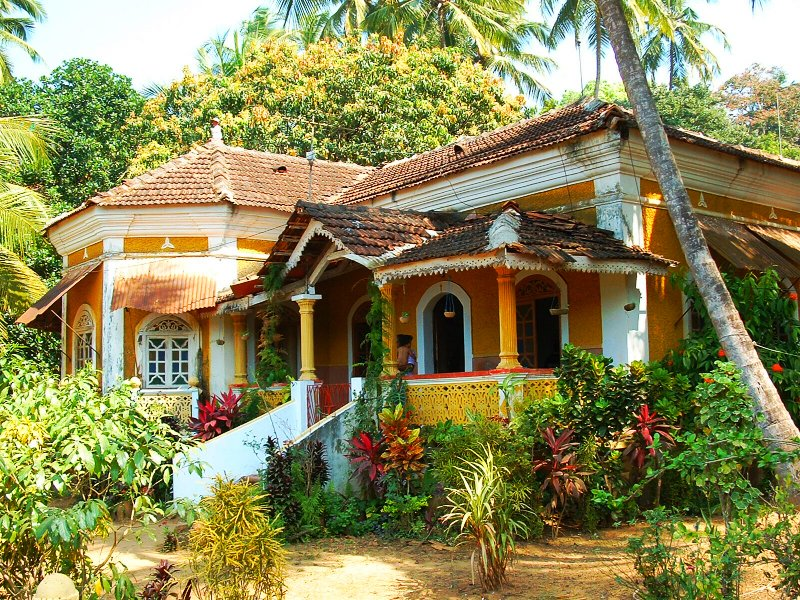 Rising demand of property in goa buy indian house at for Classic house design in india