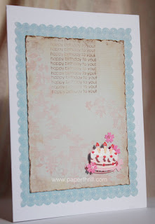 Birthday love notes greeting card