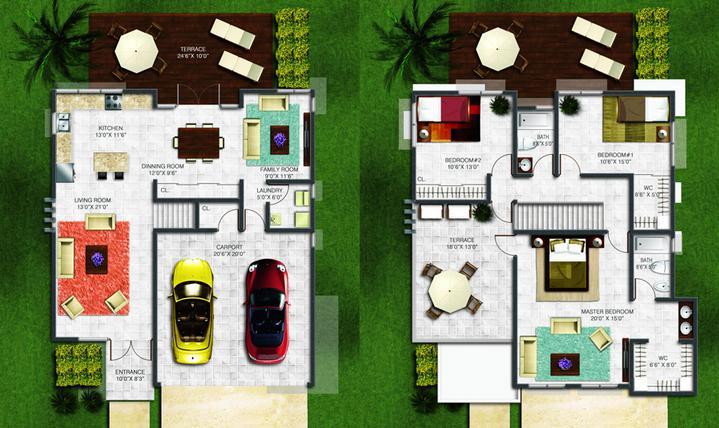 Planos de casas modelos y dise os de casas hacer planos casa - Hacer plano casa ...