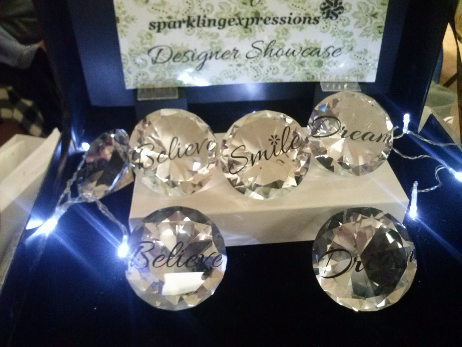 Diamond Shaped Paperweights