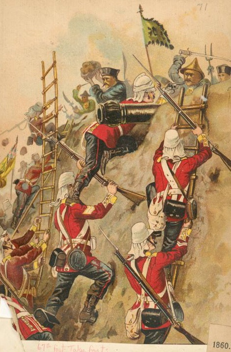 a history of the opium wars between china and britain During the war, british forces occupied shanghai, which (at the time) was a  trading port with other chinese cities then, when the british won.