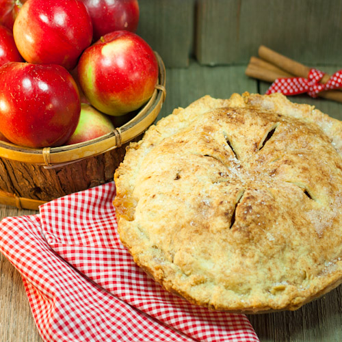 ArtandtheKitchen: Grandma's Old Fashioned Apple Pie