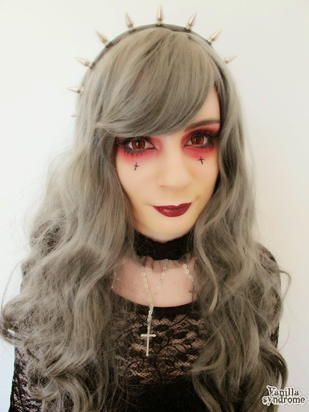 Create Gothic Halloween Lolita Look with I.Fairy Dolly+ Red