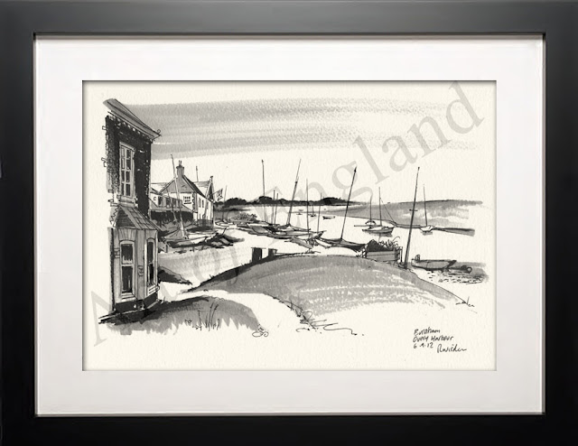 illustration of Burnham Overy Harbour