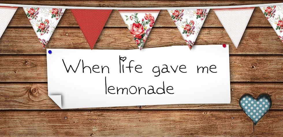 When life gave me lemonade ♥