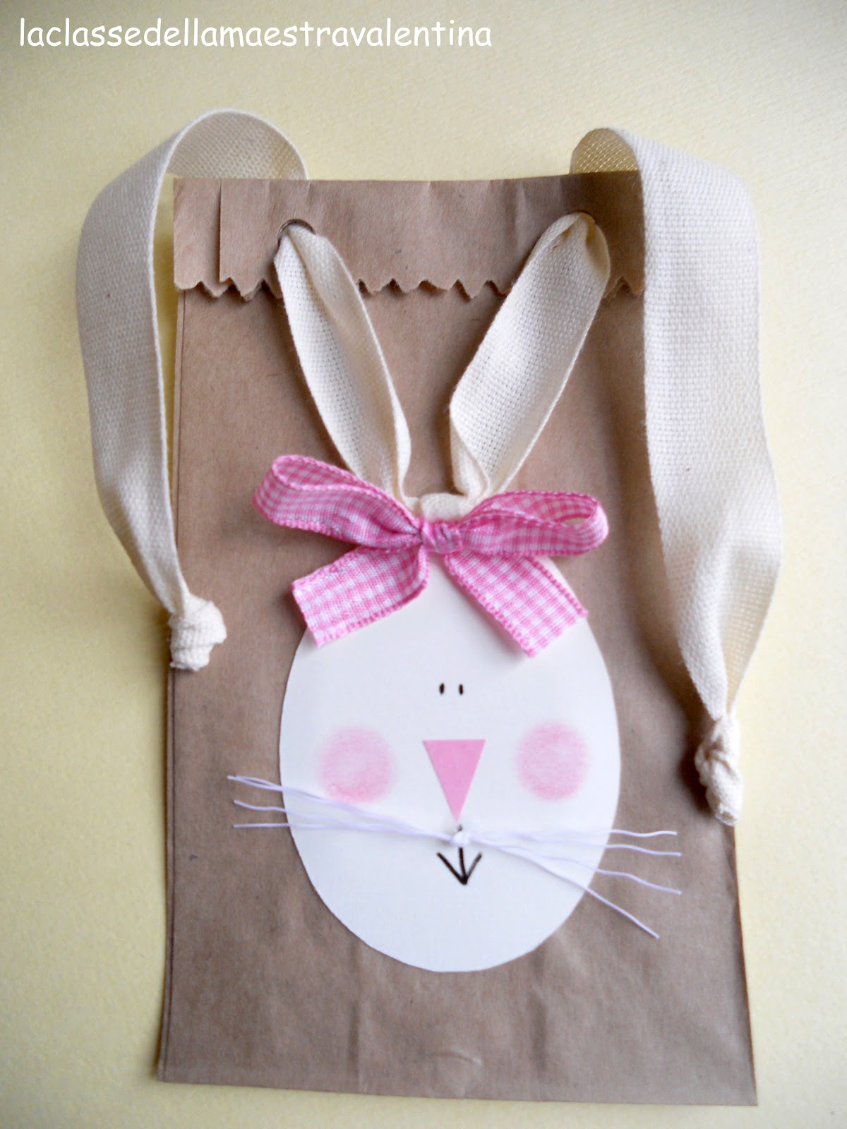 la classe della maestra valentina sacchetti coniglietti