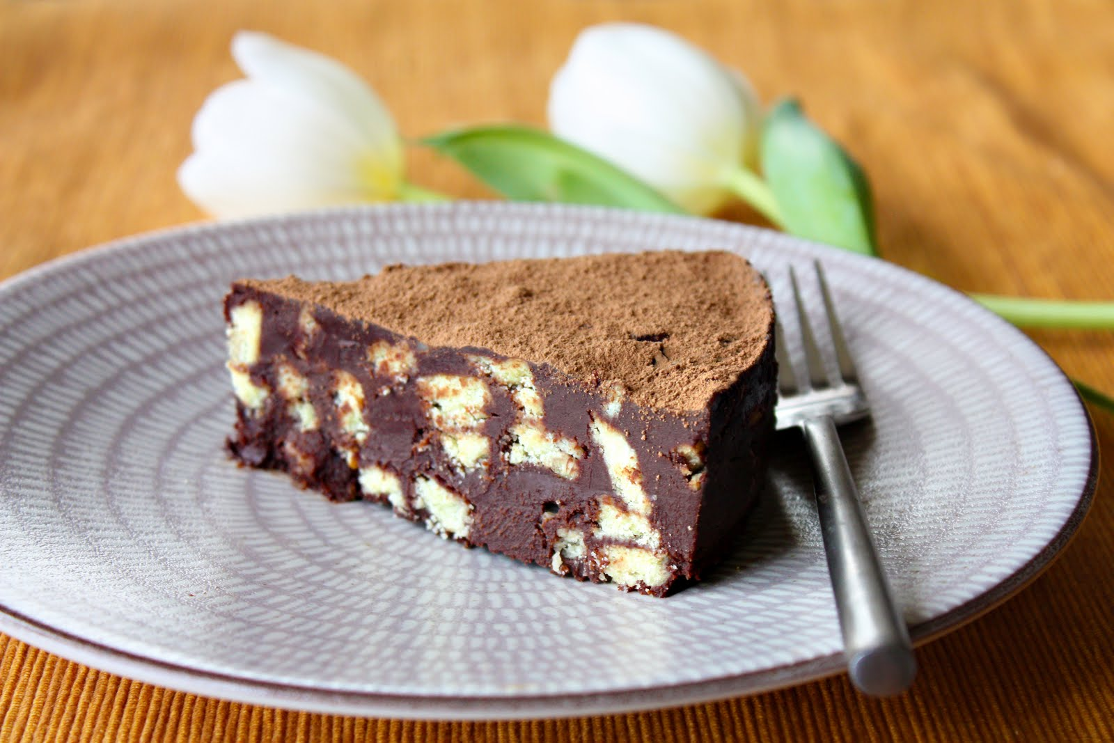 Chocolate Biscuit Cake - SheSimmers