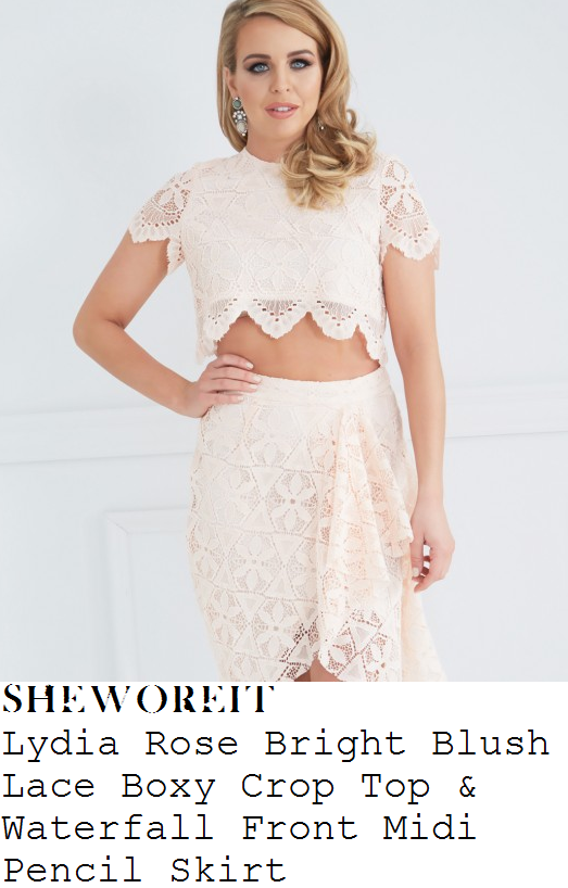 http://www.lydiarosebright.com/product/blush-lace-waterfall-front-midi-pencil-skirt/