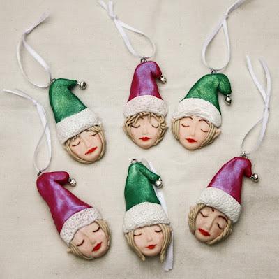 polymer christmas decoration