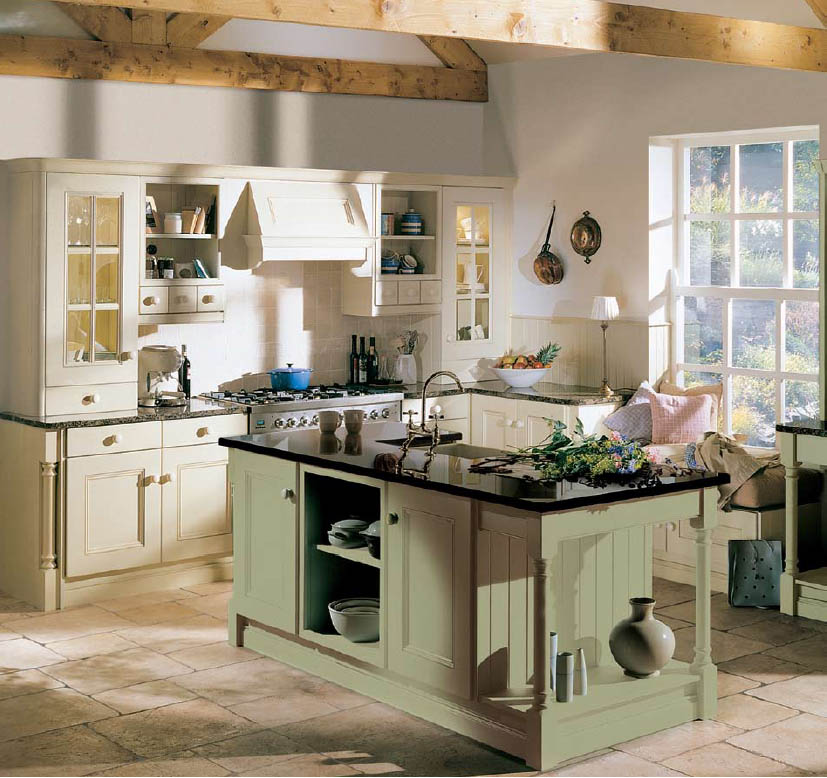 Decorating Kitchens Extraordinary With Country Style Kitchen Ideas Pictures