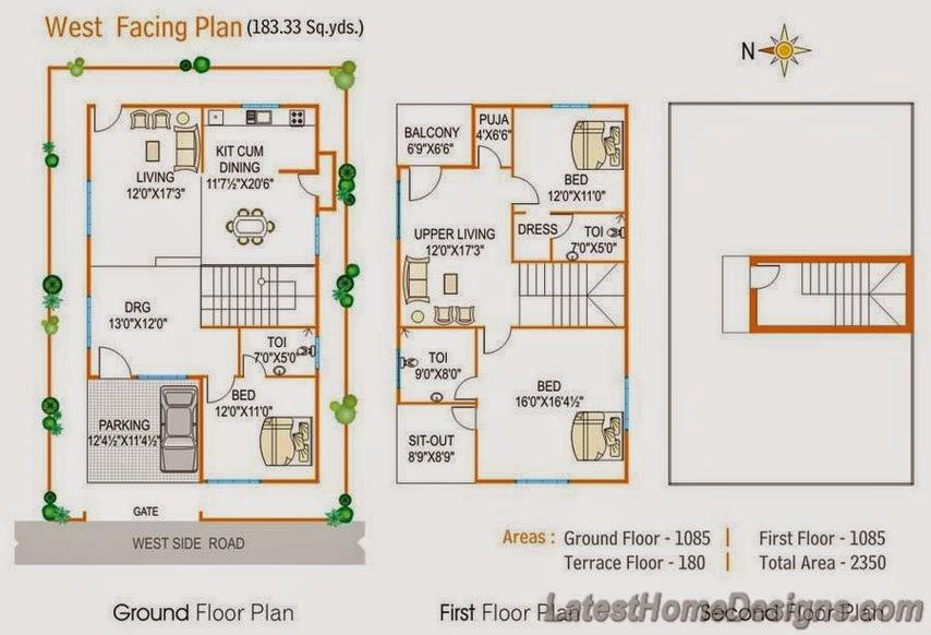 Bhk Duplex House Plan | Joy Studio Design Gallery - Best Design