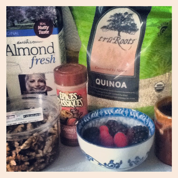Taste Cruising: Warm and Nutty Cinnamon Quinoa