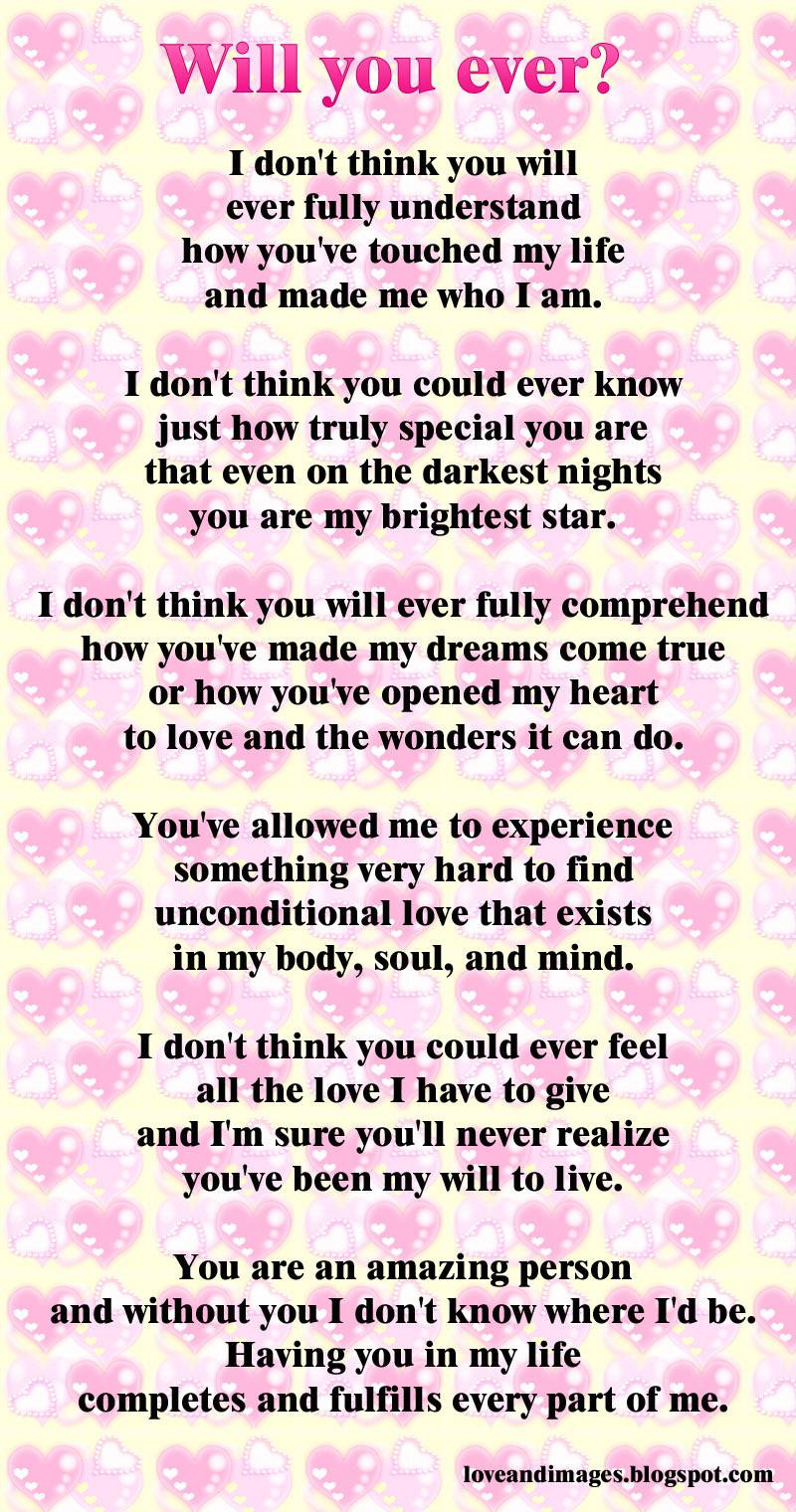 bello poema amor ingles