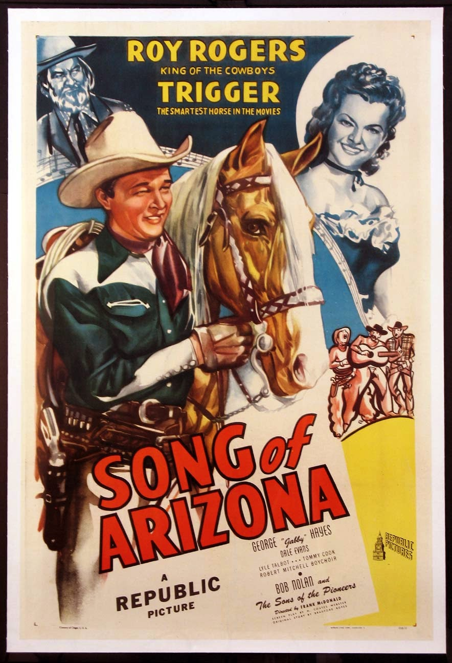 Song Of Arizona Vintage 1946 Film Poster