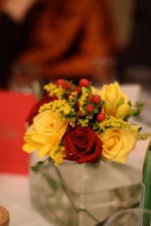 Bouquet de fleurs pour les tables