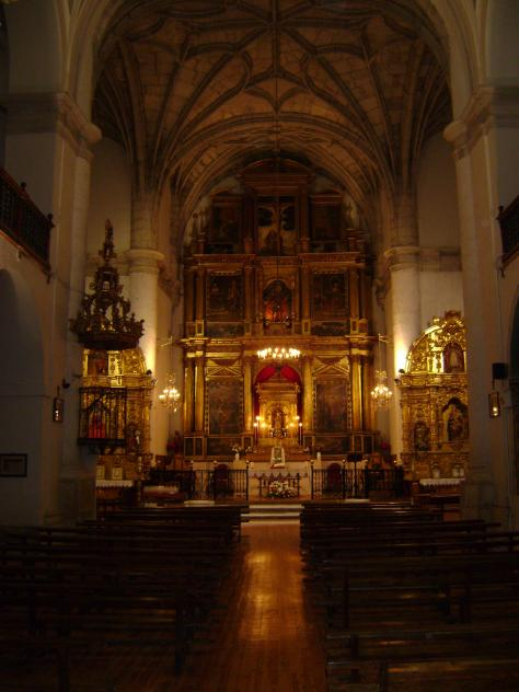 Silencio... Iglesia
