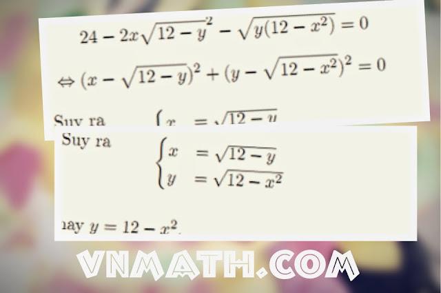 Giải câu hệ phương trình khối A năm 2014 bằng nhiều cách