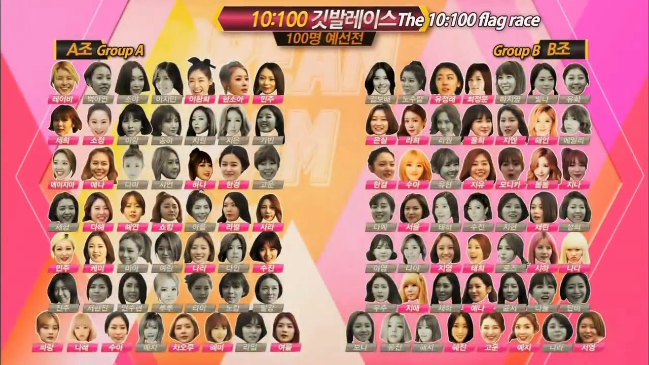 Dream Team II 100 Idols Top 50