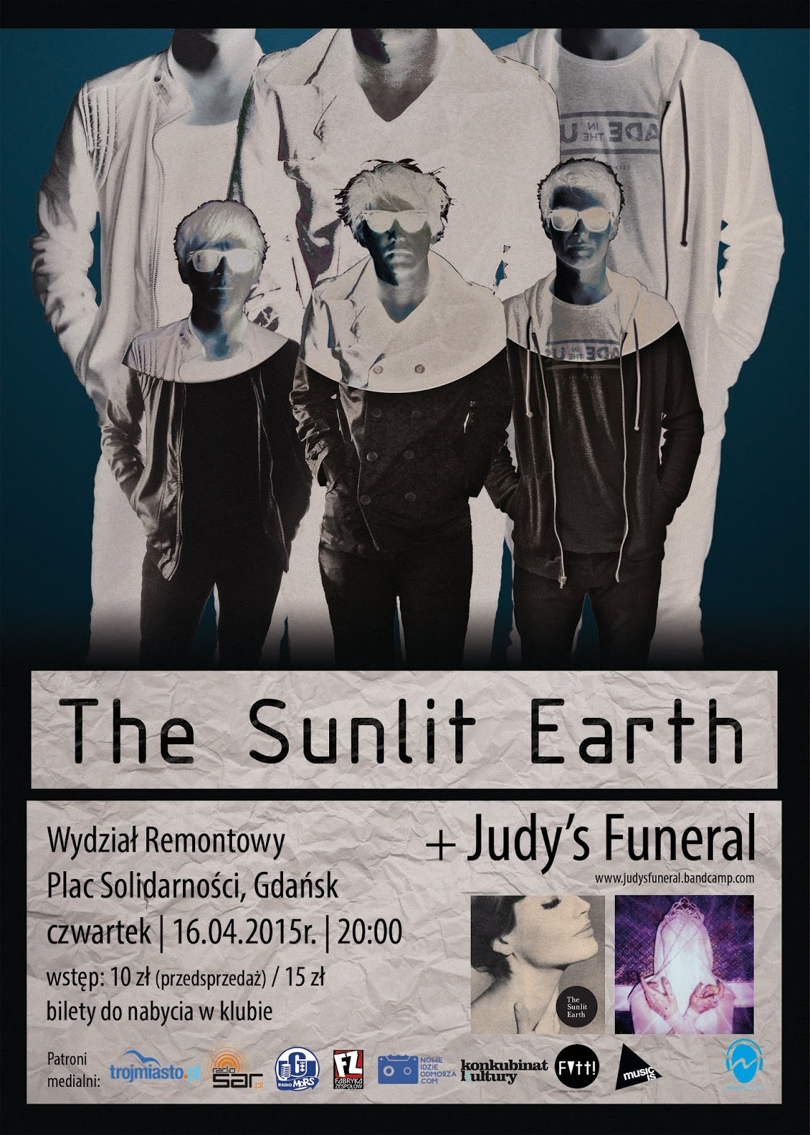 The Sunlit Earth i Judy's Funeral w Wydziale Remontowym